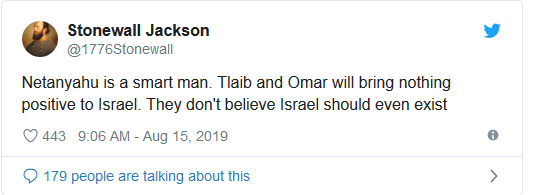 Screenshot_2019-08-15 Decision made Israel will bar Tlaib and Omar from visiting on Friday(3)