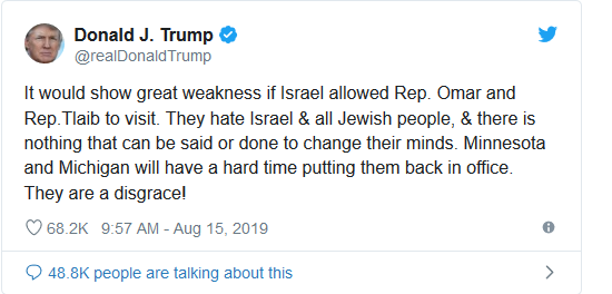 Screenshot_2019-08-15 Rob Reiner Says 'There Is Only Impeachment' After Israel Bans Ilhan Omar, Rashida Tlaib(2)