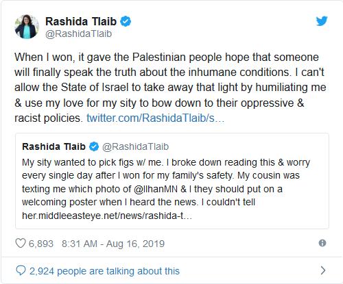 Screenshot_2019-08-16 Rashida Tlaib jilts Israel after being given OK to visit grandmother
