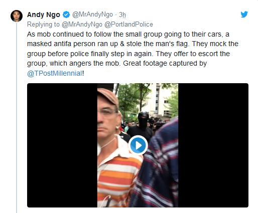 Screenshot_2019-08-17 'Anarchy and Chaos' Violent Antifa Protests Break Out in Portland(11)