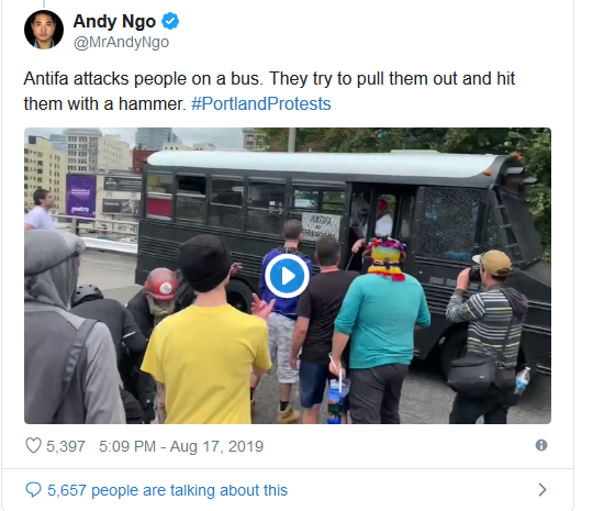 Screenshot_2019-08-17 'Anarchy and Chaos' Violent Antifa Protests Break Out in Portland(2)