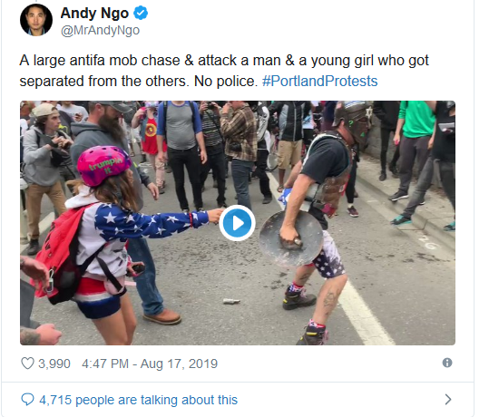 Screenshot_2019-08-17 'Anarchy and Chaos' Violent Antifa Protests Break Out in Portland(6)