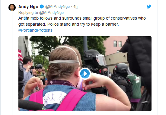 Screenshot_2019-08-17 'Anarchy and Chaos' Violent Antifa Protests Break Out in Portland(9)