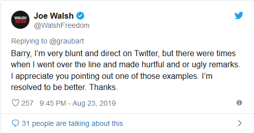 Screenshot_2019-08-26 WATCH Trump Primary Challenger Joe Walsh Confronted Over His 'Racist' Twitter Comments(1)