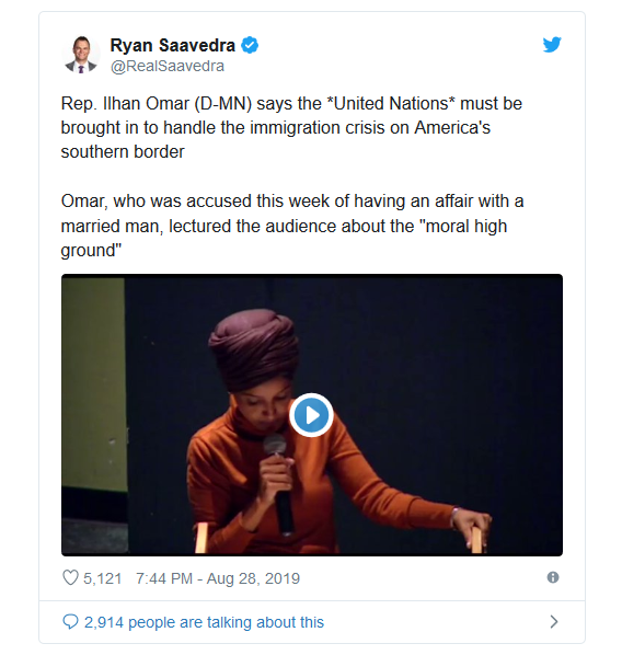 Screenshot_2019-08-29 Ilhan Omar Demands United Nations Take Over America's Border Crisis(1)