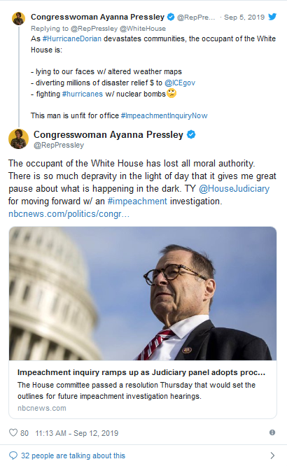 Screenshot_2019-09-12 Pressley Praises Impeachment Efforts on 'Occupant of the White House'(1)