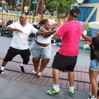 Husband and wife in viral Disneyland brawl are no-shows at court