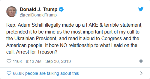 Screenshot_2019-10-01 Trump Tweets That Adam Schiff Should Be Arrested for Treason(1)