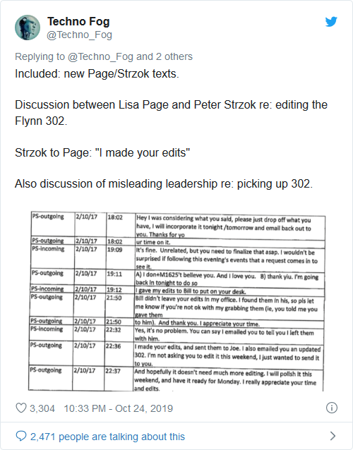 Screenshot_2019-10-25 BREAKING Flynn Lawyers Reveal FBI Attorney Lisa Page Edited Flynn FBI 302 Report - Then Lied to DOJ A[...]